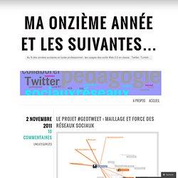 Le projet #geotweet : maillage et force des réseaux sociaux