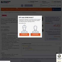 Makita DGD800RTJ Akku-Geradschleifer 18 V / 2x 5,0 Ah Akku & Ladegerät im MAKPAC