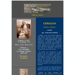 GERALDA femme cathare - roman parFrançoise Poulain