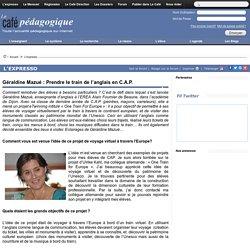 Géraldine Mazué : Prendre le train de l'anglais en C.A.P.