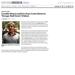 """Geraldo Rivera (Fox News) the days of the """"media blackout"""" will be a quaintly nostalgic memory in comparison."""