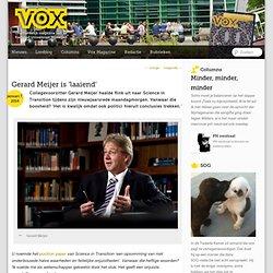 VOX: Gerard Meijer is 'laaiend'
