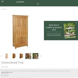 Geräteschrank Teak - Garpa