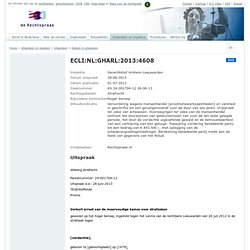 Details ECLI:NL:GHARL:2013:4608
