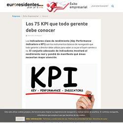 Los 75 KPI que todo gerente debe conocer - Éxito Empresarial