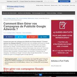▶ Bien Gérer vos Campagnes Google Adwords : Le Guide