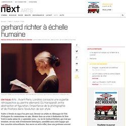 Gerhard Richter àéchelle humaine