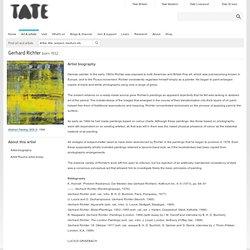 Gerhard Richter - Panorama - Tate