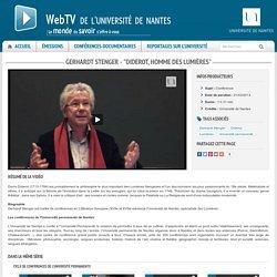 """Gerhardt Stenger - """"Diderot, homme des Lumières"""""""