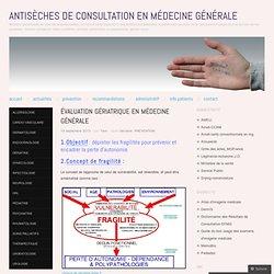 Antisèches de consultation en médecine générale