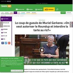 Le coup de gueule de Muriel Gerkens: «On veut autoriser le R... - Toute l'actu 24h/24 sur Lavenir.net
