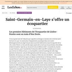 Saint-Germain-en-Laye s'offre un écoquartier, Actualité des Marchés Publics