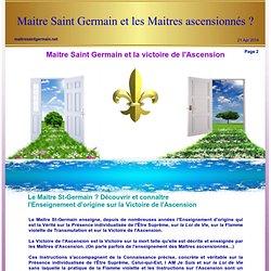 Maitre Saint Germain : la Flamme violette, telle qu'elle est vraiment.