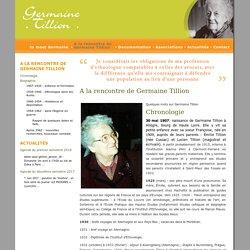 Germaine Tillion » A la rencontre de Germaine Tillion