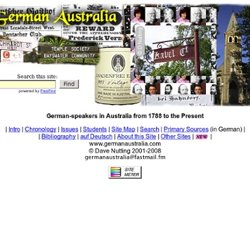 """German Australia"" - German-speakers in Australia"