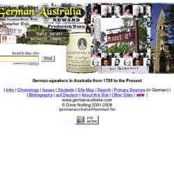 """""""German Australia"""" - German-speakers in Australia"""