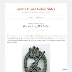 German Army Flak Badge