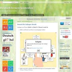 Free German: Deutsch lernen kostenlos: A1