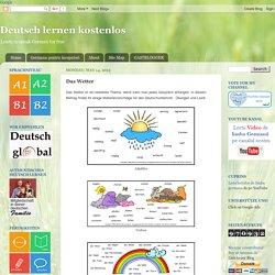 Free German: Deutsch lernen kostenlos: Das Wetter