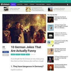 10 German Jokes That Are Actually Funny