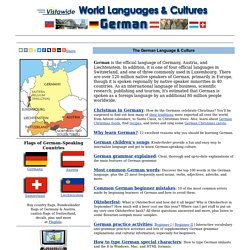 German Language - German Culture - Learn German - Speak German