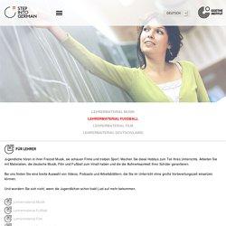 Step into German - Für Lehrer-Goethe-Institut