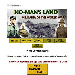 Nomans Land Militaria
