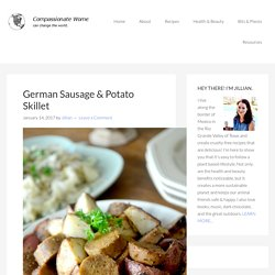 German Sausage & Potato Skillet