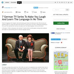 7 German TV Series To Help You Learn German