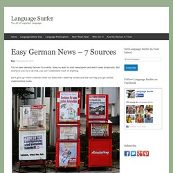 Easy German News – 7 Sources