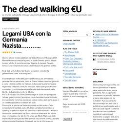 Legami USA con la Germania Nazista………..