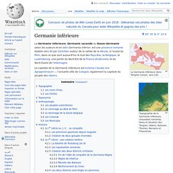 Germanie inférieure