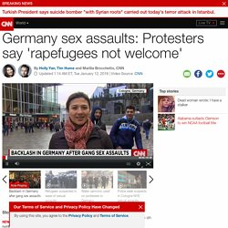 Germany sex assaults: PEGIDA marches against refugees