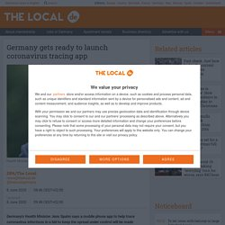 THELOCAL_DE 08/06/20 Germany gets ready to launch coronavirus tracing app