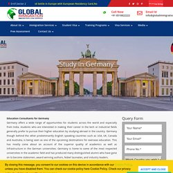 German Education Consultants For Higher Studies