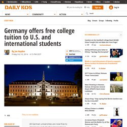 Germany offers free college tuition to U.S. and international students