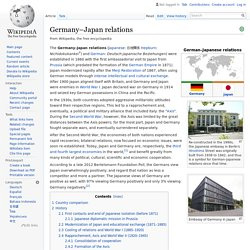 Germany–Japan relations