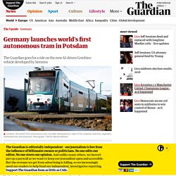 Germany Launches World's First Autonomous Tram
