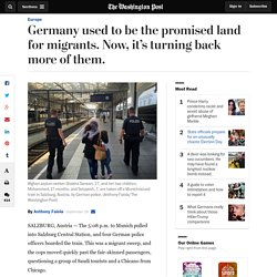 Germany used to be the promised land for migrants. Now, it's turning back more of them.