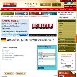 Germany Skilled Job Seeker Visa Evaluation Report, Germany Jobs