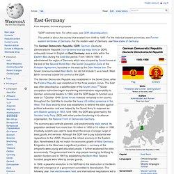 East Germany