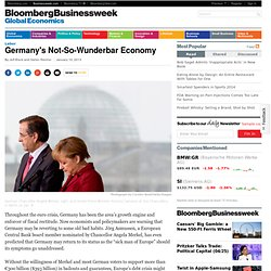 Germany's Not-So-Wunderbar Economy