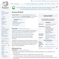 Germar Rudolf