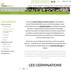 Germinations et pousses – Les Urbainculteurs