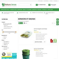 Germoirs et graines germées