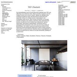 Gerrit Rietveld Academie
