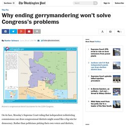 Why ending gerrymandering won't solve Congress's problems
