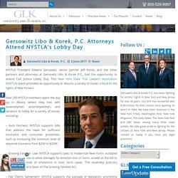 Gersowitz Libo & Korek, P.C. Attorneys Attend NYSTLA's Lobby Day - GLK