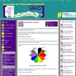 IEN St Gervais / Pays du Mont-Blanc - Informatiser une BCD