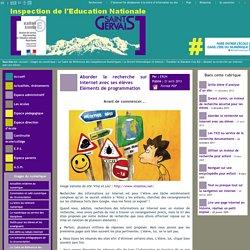 IEN St Gervais / Pays du Mont-Blanc - Aborder la recherche sur internet avec ses élèves